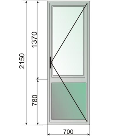 Дверь пвх балконная, цена, купить в липецке, описание, харак.