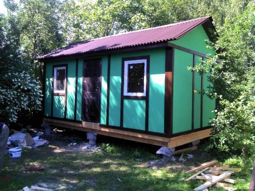 Садовый домик 6 на 3