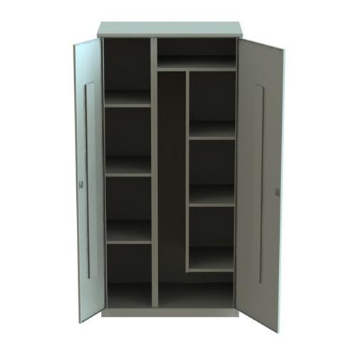 Шкаф для уборочного инвентаря 1860х900х500 усиленный, цена, .