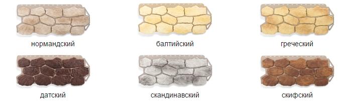 фасадные панели под камень бутовый фото